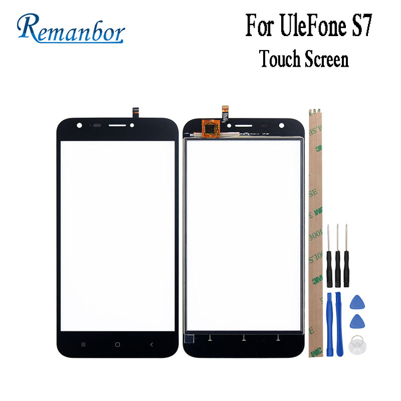 Remanbor  For UleFone S7 Touch Screen 5.0 Perfect Replacement Touch Panel TP For UleFone S7 Phone Accessory +Tools +AdhesiveRemanbor  For UleFone S7 Touch Screen 5.0 Perfect Replacement Touch Panel TP For UleFone S7 Phone Accessory +Tools +Adhesive