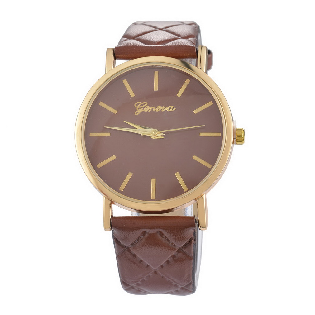 Geometric Rhombus Dress Watches Women Gold Plated Quartz Wristwatch Clock For Women Female 2017 New Fashion Girls Hour Gift funique fashion gold dial women leather watches casual tree pattern dress quartz wristwatch for girls clock hour montre femme