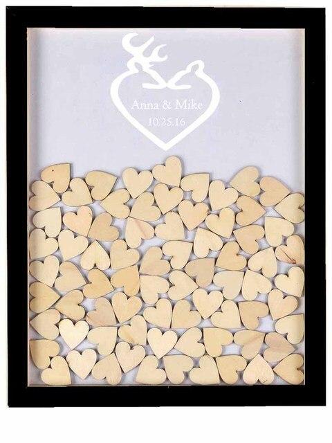 Holz Geust Buch Drop Box Alternative Ideen Hochzeit Gastebuch
