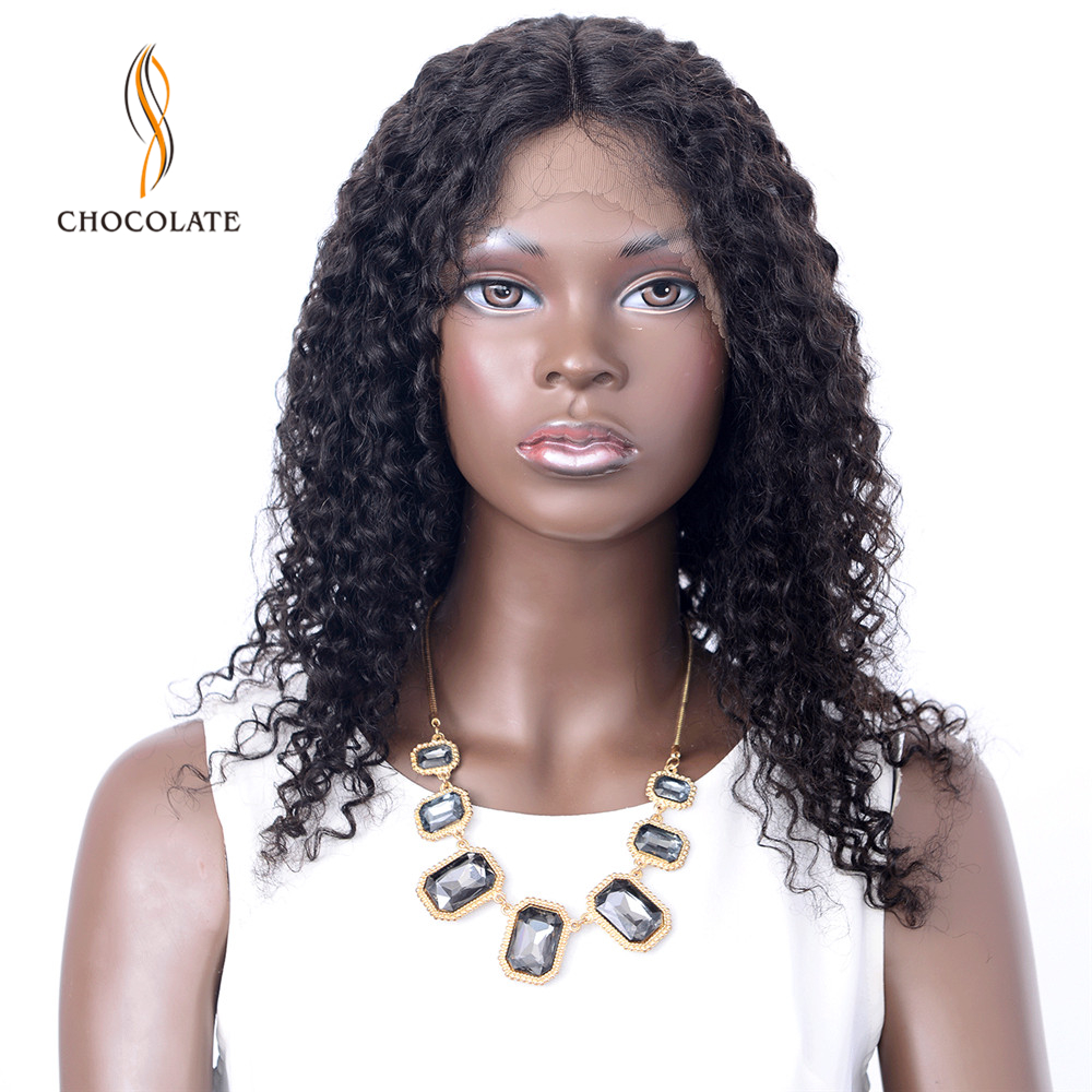 Afro Kinky Curly Lace Front Wig 18 22Inch Remy Brazilian Pre Plucked Lace Front Human Hair Wigs For Black Women Free Shipping