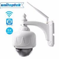 1080 P 960 P PTZ Câmera IP Sem Fio Wifi ONVIF Speed Dome ao ar livre Câmera de Segurança CCTV 2.7-13.5mm Foco Automático Zoom de 5x SD cartão