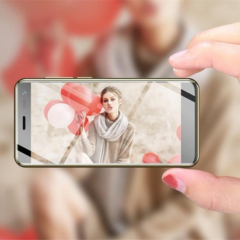 Фото. 2019 самый маленький смартфон Ulcool U2 3,15 дюймов MTK6739 1 ГБ 8 ГБ телефон Android 8,1 Google Pla