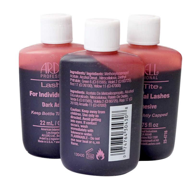 c2384fd6c7b ... 1/3/10 bottles Ardel LASHTITE Adhesive for INDIVIDUAL lashes Glue DARK  0.75 fl ...