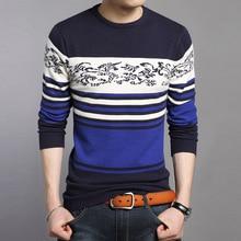 Осенний мужской свитер тонкий свитер с круглым вырезом корейский тонкий свитер мужской Повседневный свитер 3XL 4XL