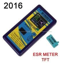 2016 Transistor Tester TFT Diode Triode Capacitance Meter LCR ESR NPN PNP MOSFET