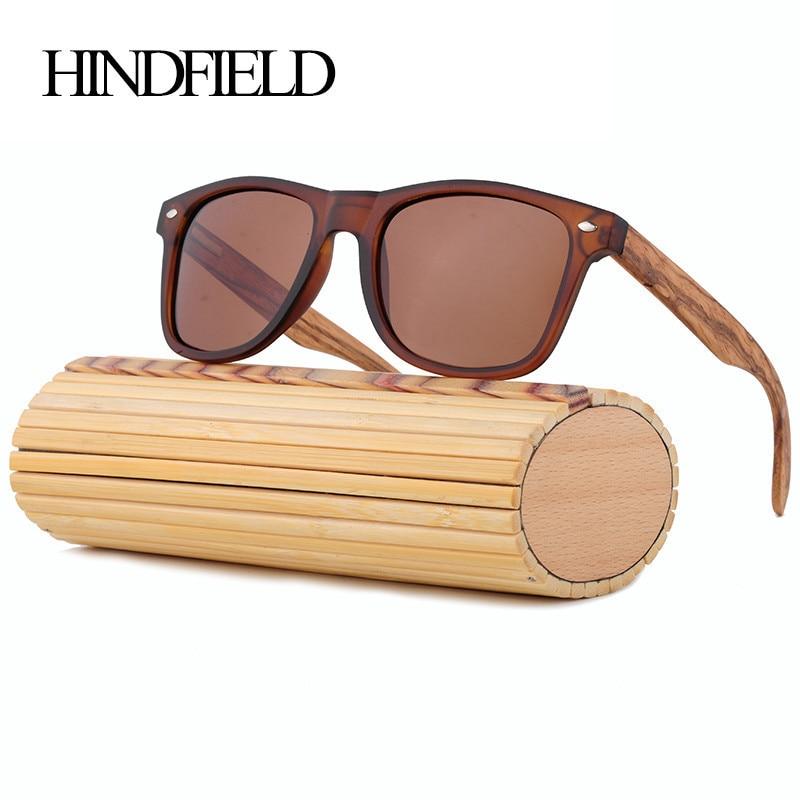 Hindfield lujo hecho a mano de bambú Gafas de sol mujeres hombres marca  diseñador vintage madera Sol Gafas hombre oculos de sol feminino UV400 73898137bf