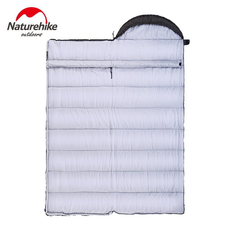 Naturehike Фабричный спальный мешок для путешествий на весну, осень, зиму, теплый портативный походный спальный мешок для взрослых в помещении - 5
