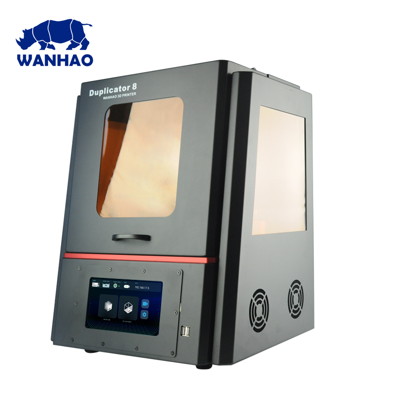 Dental Jewelry DLP SLA Resin 3D Printer With WIFI Wanhao Factory Supply Duplicator 8 D8 3D Printer Machine 500ml Resin For Free