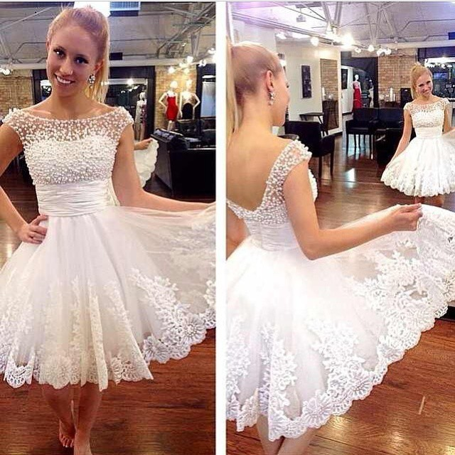 Lace Dress Graduation