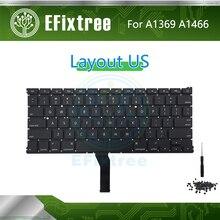 A1466 A1369 Клавиатура США английская раскладка для Macbook Air 13,3 дюймов EMC 2469 2559 2632 2924 2925 3178 2011- год EMC 3178