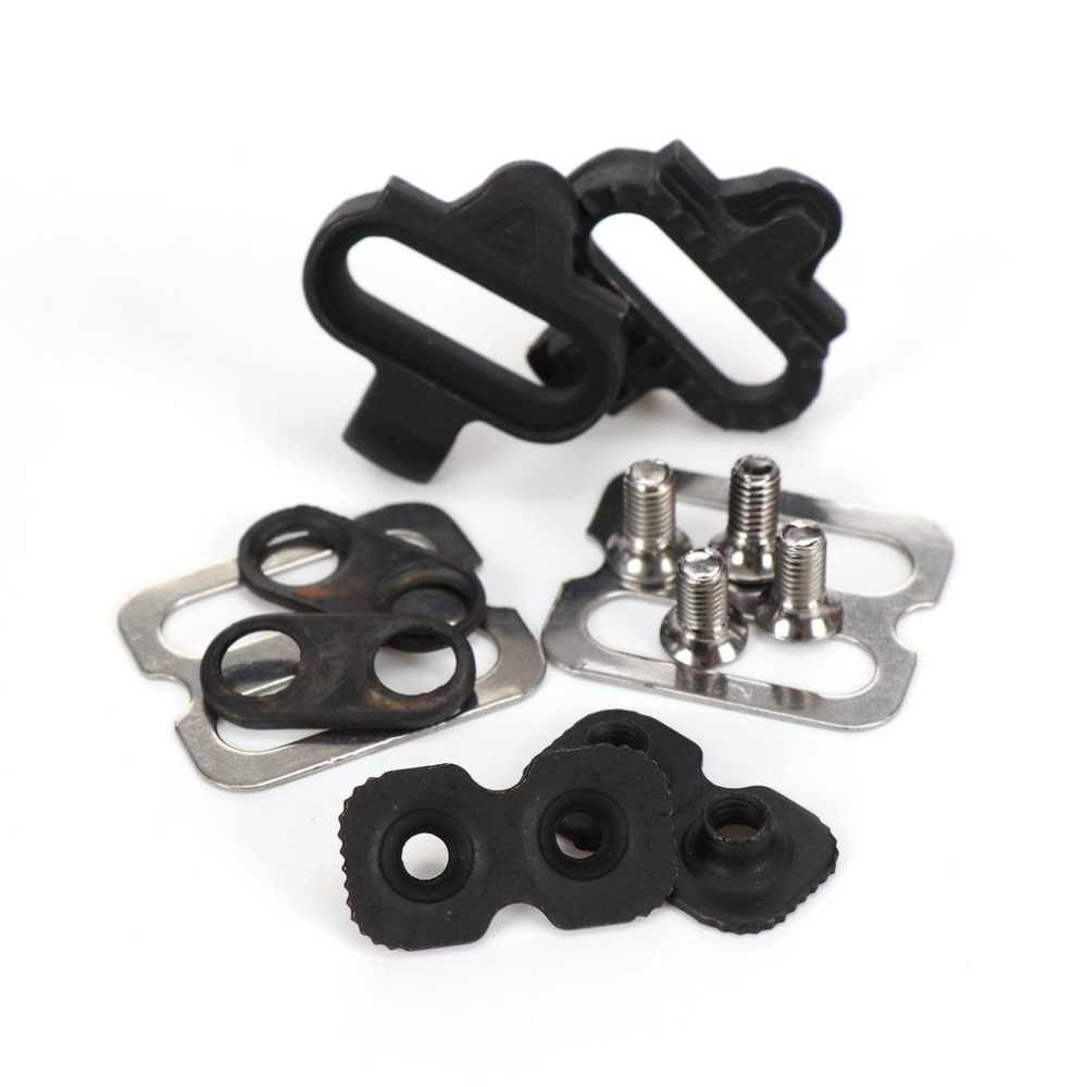 868ec33ae26 ... Bicycle Accessories Bike Cleats Set For Shimano MTB SPD Pedals PD-M520  M540 M324 M545 ...