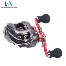 Maximumcatch Gear ratio 6.3:1 , 11+1BB Bait casting fishing reel LEFT HAND Fishing Reel BAIT CASTING REEL