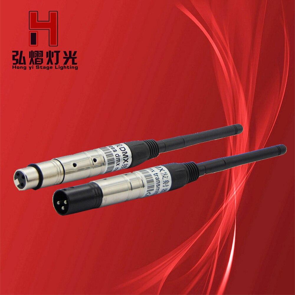 2.4G sans fil DMX 512 émetteur récepteur 2in1 LCD affichage éclairage