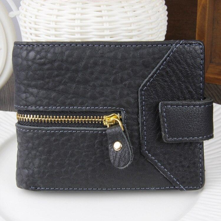 New Pattern Fashion Men Genuine Leather Wallets