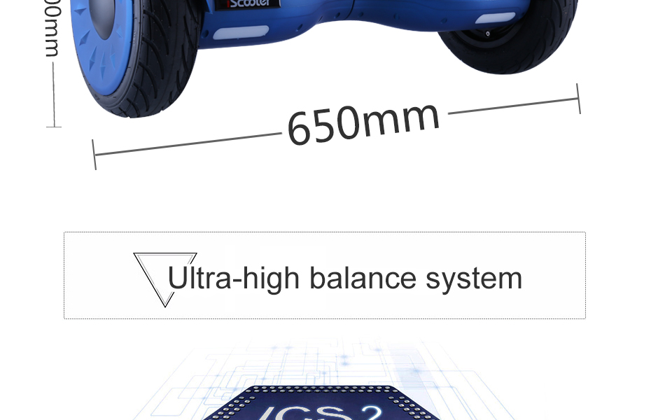 10 inch self balancing electric Hoverboard with speaker and Bluetooth 11
