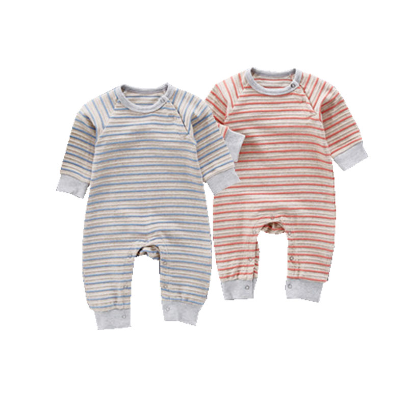 New baby Born kids Spring Striped Romper Cotton Newborn Infant Kids Baby Girl Boy Long Sleeve Jumpsuit Babies Clothes Outfit baby clothing summer infant newborn baby romper short sleeve girl boys jumpsuit new born baby clothes