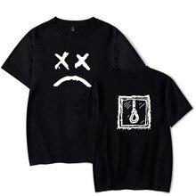 Lil Peep T-Shirts Short Sleeve Classic Design T-Shirts Funny Print  Round Neck Casual Streetwear Tee Shirts Lil Peep