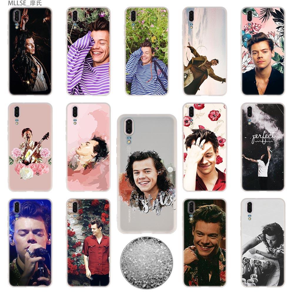 100% Waar Tpu Cover Telefoon Gevallen Zachte Voor Huawei P 20 Pro P10 Plus P9 P8 Lite 2017 P30 Pro Samrt 2019 Nova 3e Harry Styles One Direction