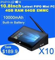 PIPO x8 двойной OS Сенсорный экран Мини-ПК Планшеты Intel z3736f 4 ядра Оконные рамы 8.1 Android 4.4 2 г Оперативная память 32 г SSD