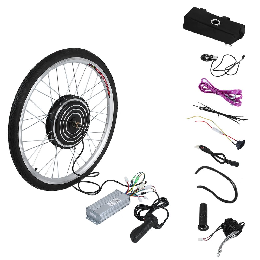500W High Power 36V Electric Bicycles E Bike 26inch Rear Wheel Conversion Kit Cycling Brushless Motor Replace Set Germany