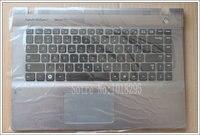 NEW FOR Samsung QX410 QX411 English US English laptop keyboard with c shell BA75 03195B