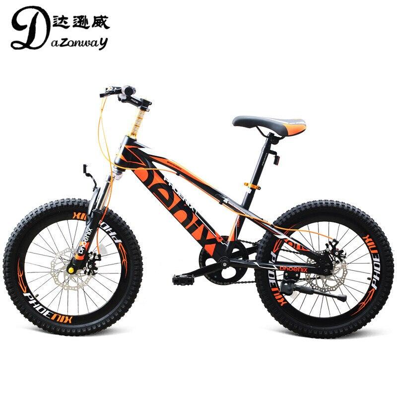 20 pouces Enfants de vélo unique changement de vitesse jeunesse VTT de l'école secondaire primaire étudiants vélo Pour 9 ~ 15 ans enfants