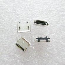 10PCS/LOT MicroUSB socket MK5P Mike 5P MINIUSB USB 5-pin female
