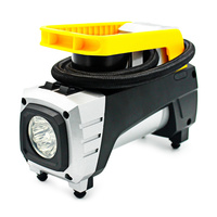 LED Light Car Tire Inflator 12V 120W Pointer Table Portable Air Compressor Inflatable Pump Tools for Moto Bike Cigarette Lighter