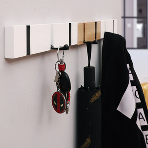 Baffect Retro Wood Coat Hook N
