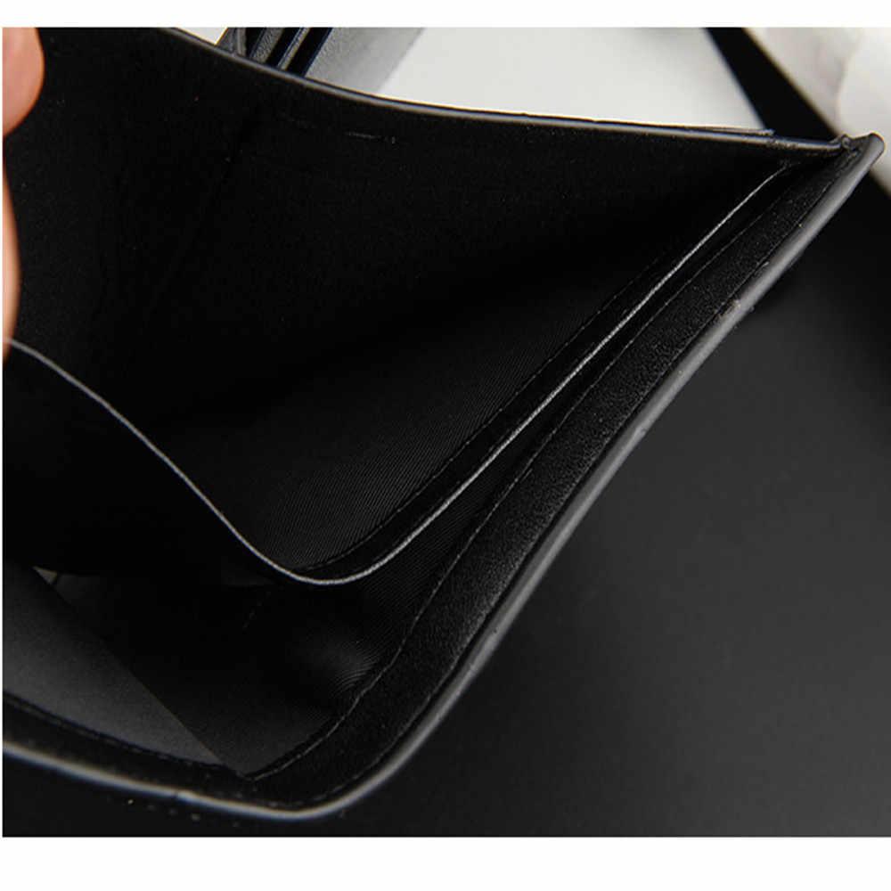 Роскошные Дизайнерские брендовые Кожаные Малый короткие мужчины бумажник портфель мужской клатч портмоне Cuzdan Walet держателя карты Perse Portomonee
