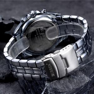 Image 5 - ساعة عصرية من CURREN مصنوعة من الفولاذ المقاوم للصدأ بالكامل للرجال ساعات يد عسكرية عسكرية من الكوارتز للرجال مقاومة للماء 30 متر 8083