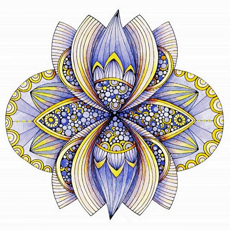 US $18.75 |Mandalas Fantasy Creative Coloring book Relieve Stress Kill Time  Graffiti Painting Drawing antistress art adult coloring books-in Books ...