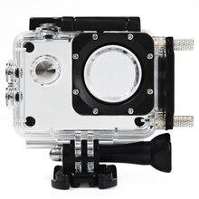 Оригинальный SJCAM Водонепроницаемый случае Корпус для SJ4000/SJ4000 Wi-Fi/SJ4000 ПЛЮС Действие Камера мотоциклетные Применение