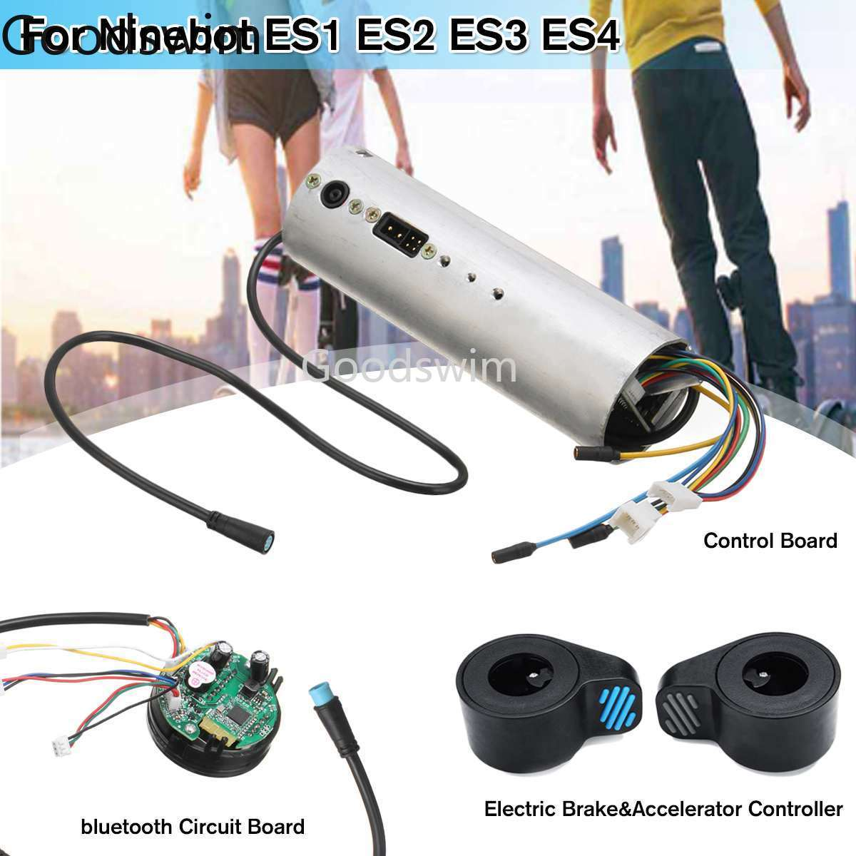 Electric Scooter Control Board Bluetooth Circuit Board Motherboard  Controller for Ninebot ES1 ES2 ES3 ES4 Activated Dashboard