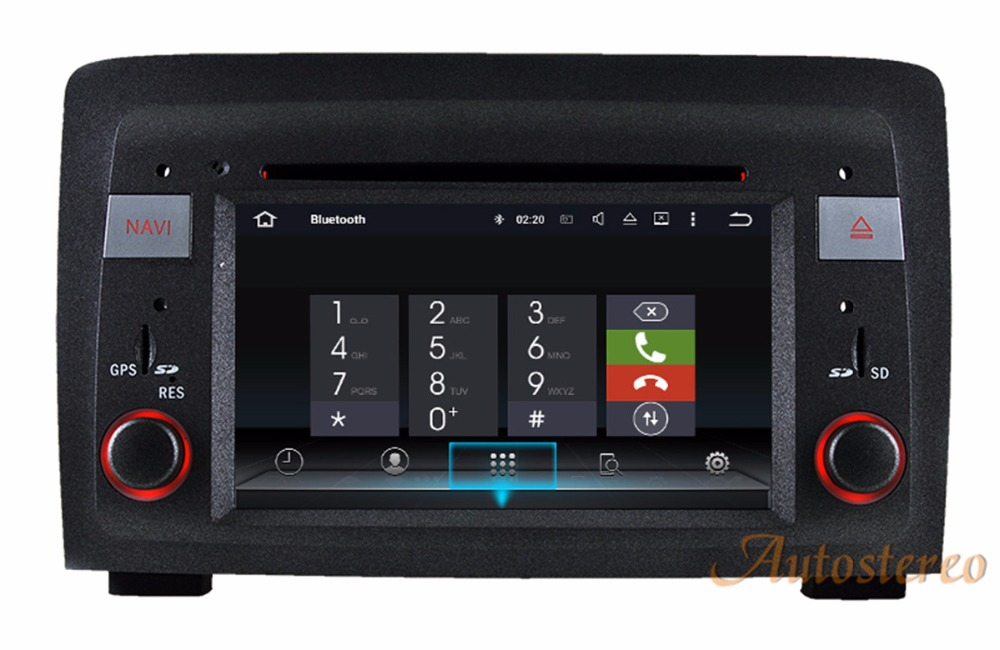 The newest Android7.1 Car CD DVD Player GPS navigation For Fiat Idea 2003 2007 Lancia Musa 2004 2008 multimedia stereo unit