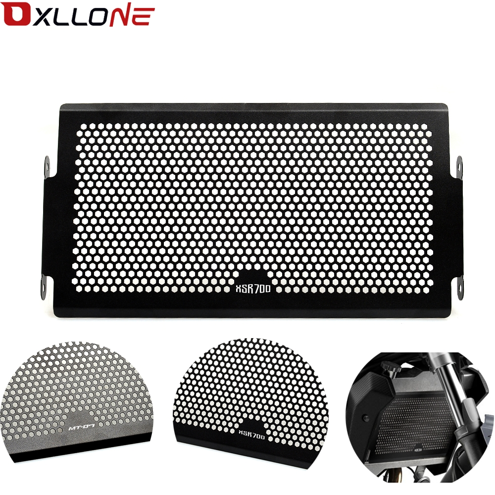 For Yamaha Mt07  Mt 07 FZ07 FZ 07 MT 07 2014 2018 XSR700 radiator protective cover Guards Radiator Grille Cover Protecter-in Covers & Ornamental Mouldings from Automobiles & Motorcycles