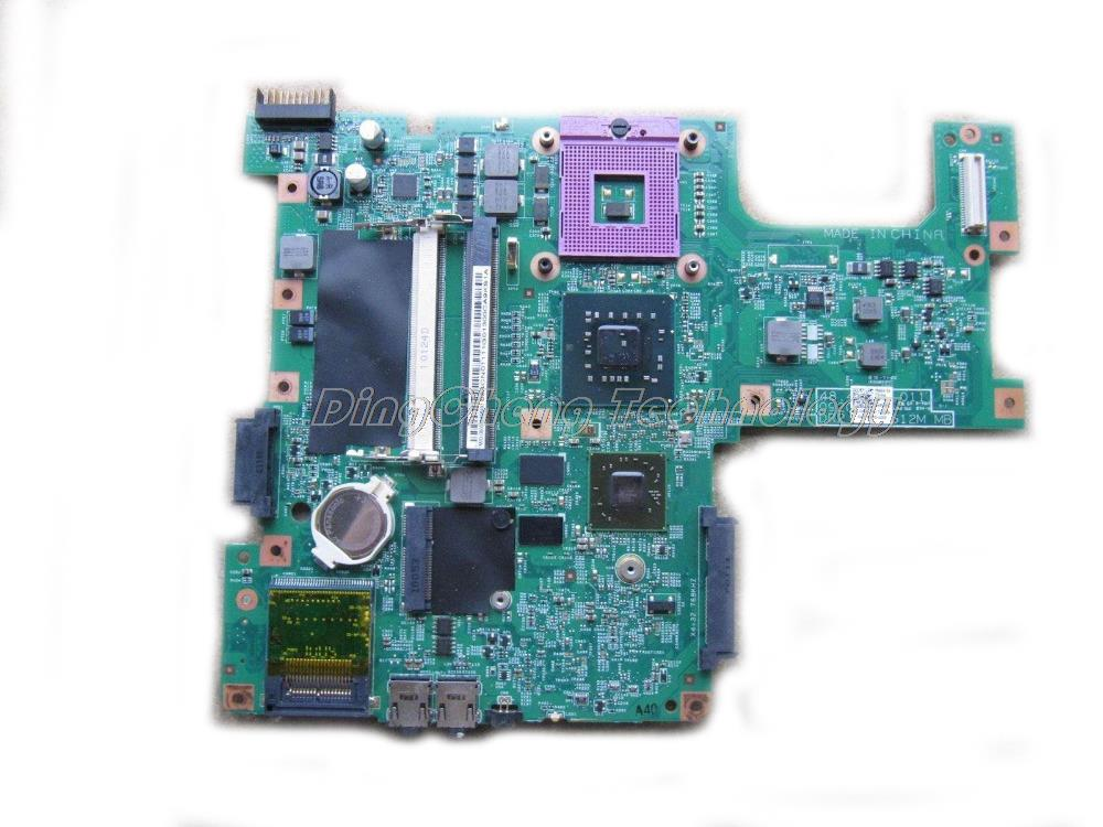 HOLYTIME laptop Motherboard for dell inspiron 1545 CN-0CJFHX GM45 DDR2 4 video chips non-integrated graphics cardHOLYTIME laptop Motherboard for dell inspiron 1545 CN-0CJFHX GM45 DDR2 4 video chips non-integrated graphics card