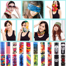 Sale Unisex Women Men Multicolor Magic Fashion Head Face Mask Neck Gaiter Snood Headwear Motorcycle Cycling Tube Scarf Headband