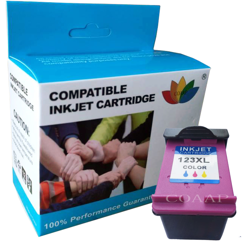 Refilled ink cartridge for hp 123 123XL for HP Deskjet ...