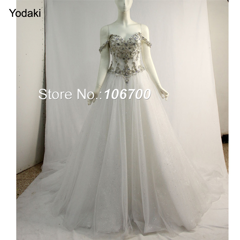 Frank Vestido De Noiva Sweetheart Hand Made Crystal Beaded Wedding Dresses For Marriage Tulle Inside White Ivory Color Bridal Gowns Agreeable Sweetness Weddings & Events