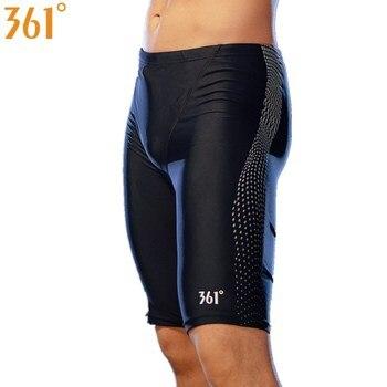 361 Men Swimwear Tight Swim Trunks Plus Size Professional Pool Swimming Pants for Competition Swimsuit Boys Shorts