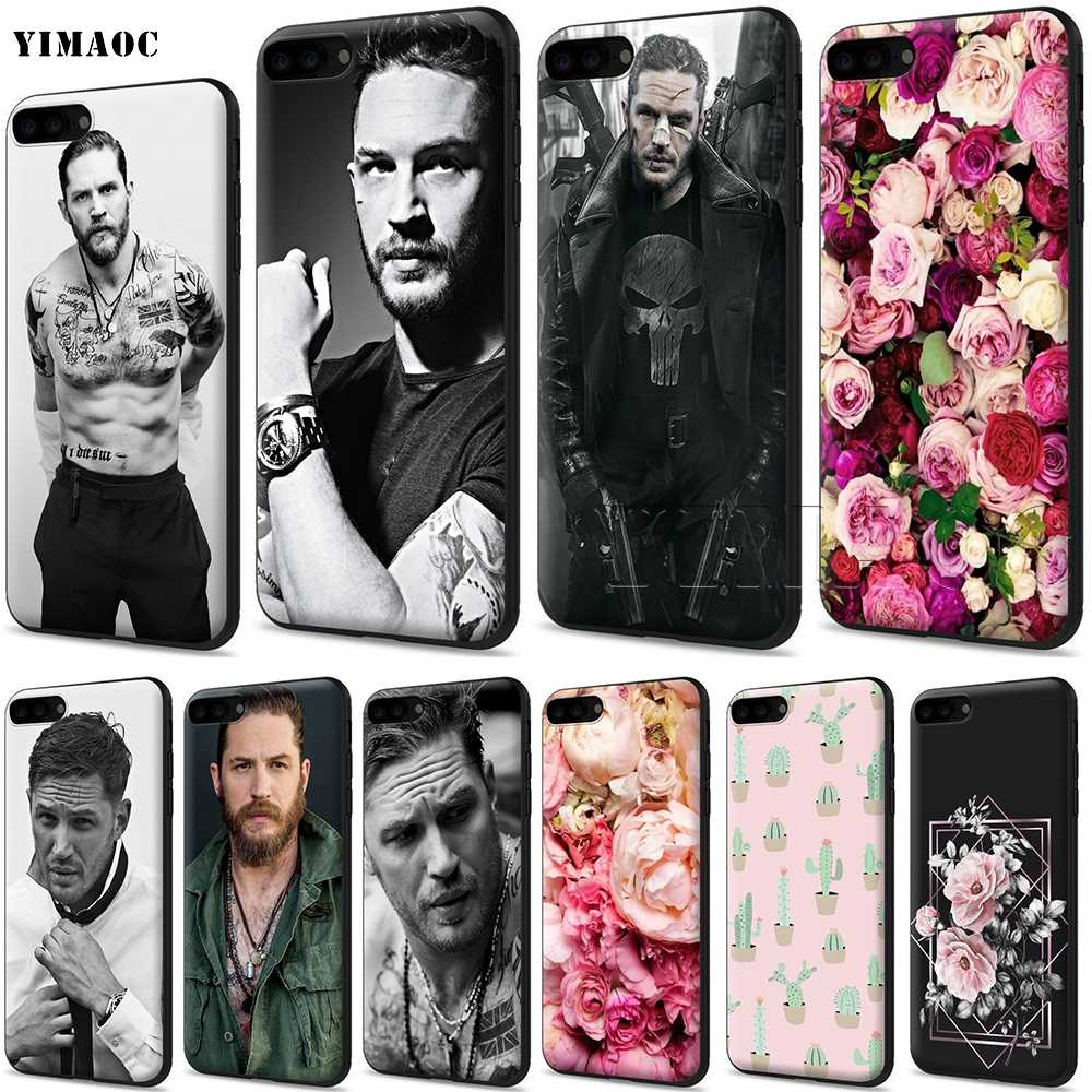 YIMAOC Tom Hardy Cassa Molle Del Silicone per il iPhone 11 Pro XS Max XR X 8 7 6 6S Plus 5 5s se