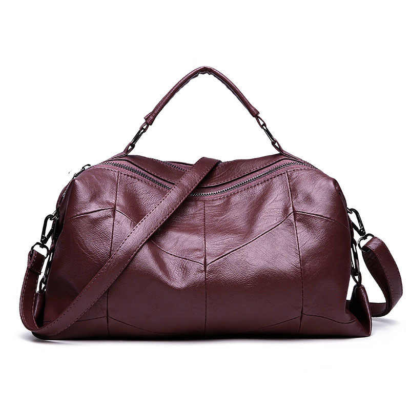 f623caa7b916 ... Fashion Pillow Bag Lady Handbag Tote Women Shoulder Bag Italian Leather  Bags Designer Brand Female Large ...