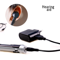 New Adjustable Mini Ultra Small Invisible Sound Amplifier Hearing Aid In Ear Sound Enhancement Deaf Aid For Ear Ear Care Tools