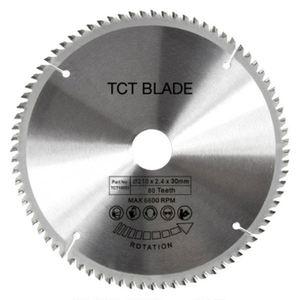 Image 2 - Yüksek kaliteli 210mm 80T 30mm çap TCT dairesel testere bıçağı disk DIY dekorasyon için genel ahşap kesme