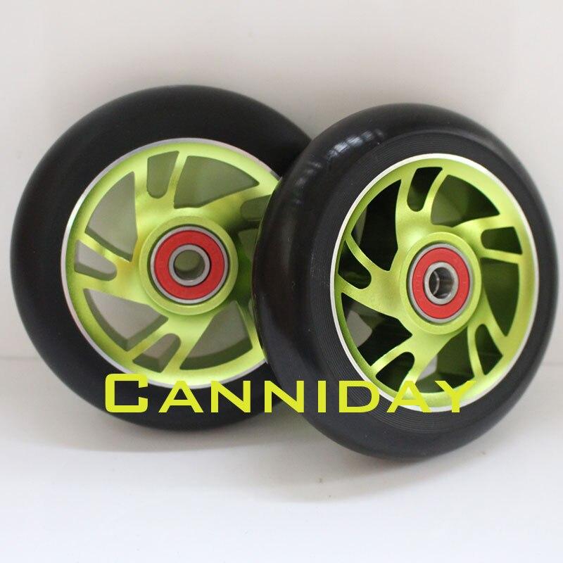 Kostenloser Versand! Stunt Roller Räder / Aluminiumlegierung Räder - Radfahren - Foto 6