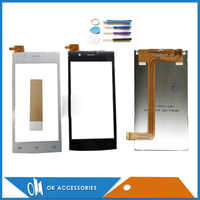 100% Test For Fly FS451 LCD Display LCD Screen With Touch Screen High Quality New Replacement 1PC/Lot