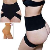 Sexy Butt Lifter Sexy Black High Waist Underwear Control Panties Women Pants Buttocks Enhancer Cincher Lingerie Plus Size S-XXL