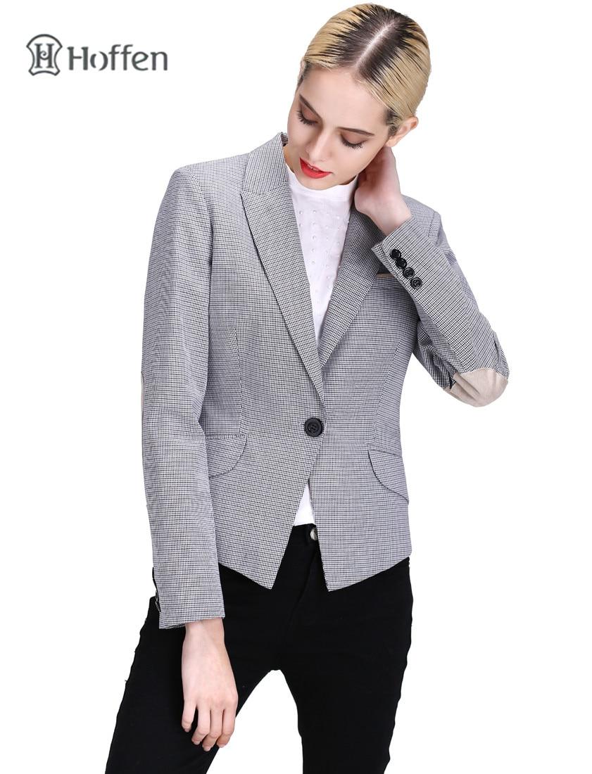 Hoffen Fashion OL ქალები Blazer ქურთუკი - ქალის ტანსაცმელი - ფოტო 5