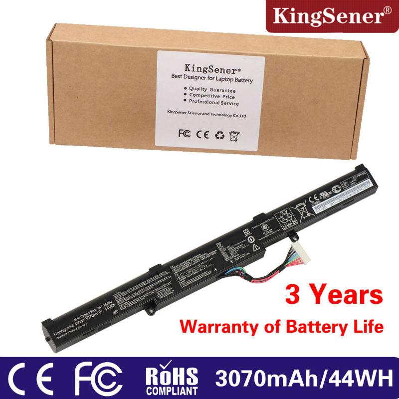 Prix pour 3070 mAh 44WH Nouveau Véritable A41-X550E Batterie D'ordinateur Portable pour ASUS X450 X450E X450J X450JF A450J A450JF A450E F450 F450C F450V F450E